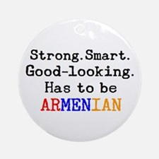 be armenian Round Ornament