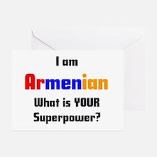 i am armenian Greeting Card