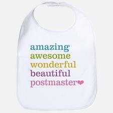 Amazing Postmaster Bib