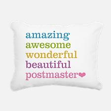 Amazing Postmaster Rectangular Canvas Pillow
