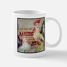 Vintage Roosters Mugs