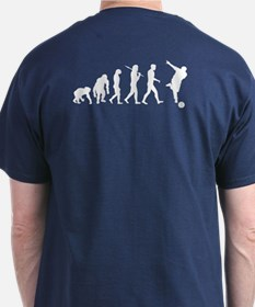 Evolution Of Bowling T-Shirt