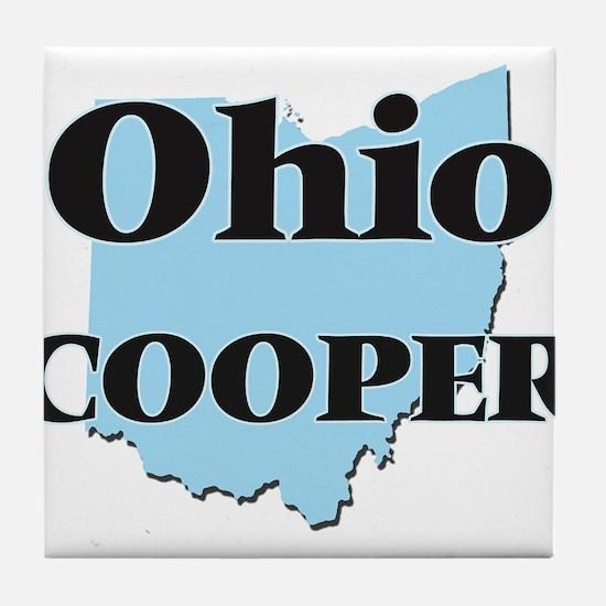 Ohio Cooper Tile Coaster