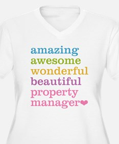Amazing Property Manager Plus Size T-Shirt