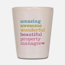 Amazing Property Manager Shot Glass