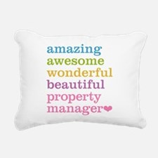 Amazing Property Manager Rectangular Canvas Pillow
