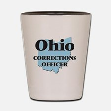 Ohio Corrections Officer Shot Glass