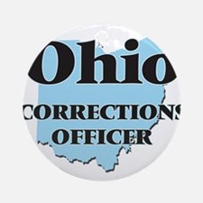 Ohio Corrections Officer Round Ornament