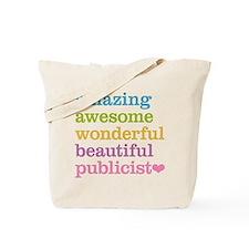 Amazing Publicist Tote Bag