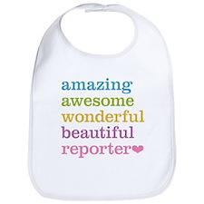 Amazing Reporter Bib