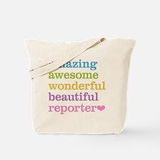 Amazing Reporter Tote Bag