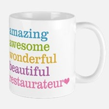 Amazing Restaurateur Mugs