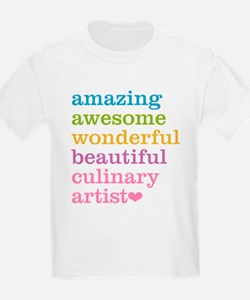 Amazing Culinary Artist T-Shirt