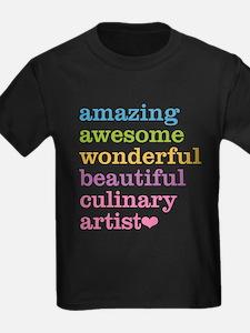 Amazing Culinary Artist T-Shirt