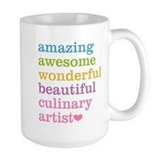 Amazing Culinary Artist Mugs
