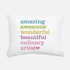 Amazing Culinary Artist Rectangular Canvas Pillow