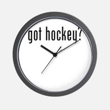 got hockey Wall Clock