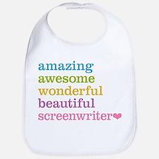 Amazing Screenwriter Bib