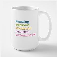 Amazing Screenwriter Mugs