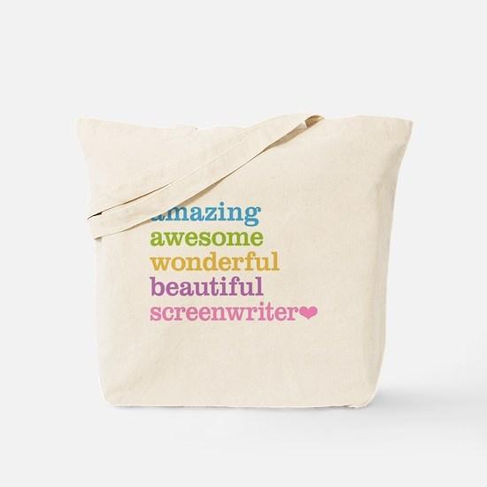 Amazing Screenwriter Tote Bag