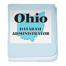 Ohio Database Administrator baby blanket