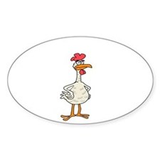 Angry Chicken Decal