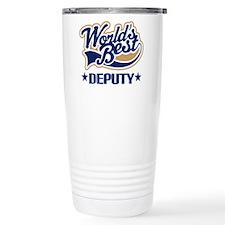 Funny Sheriff deputy Travel Mug