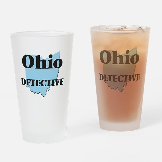 Ohio Detective Drinking Glass