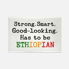 be ethiopian Rectangle Magnet