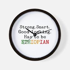 be ethiopian Wall Clock