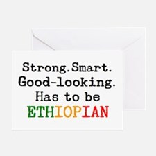 be ethiopian Greeting Card
