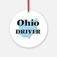 Ohio Driver Round Ornament