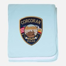 Corcoran Police baby blanket