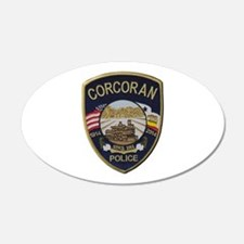 Corcoran Police Wall Decal