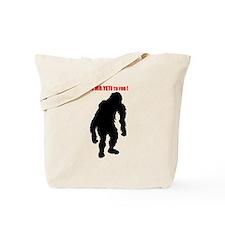 Mr. Yeti Tote Bag