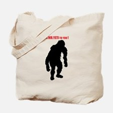 Mr. Yeti Tote Bag
