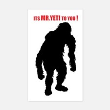 Mr. Yeti Decal