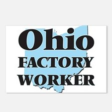 Ohio Factory Worker Postcards (Package of 8)