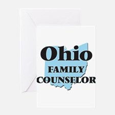 Ohio Family Counselor Greeting Cards