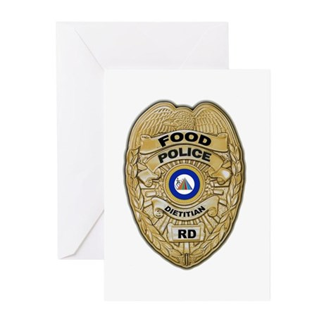 Food Police Greeting Cards (Pk of 10)