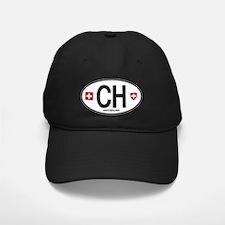 Switzerland Euro Oval Baseball Hat