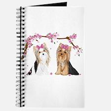 Yorkies in Blossom Journal