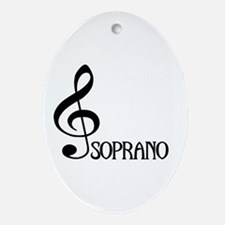 Soprano Oval Ornament