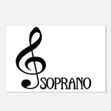 Soprano Postcards (Package of 8)