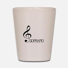 Soprano Shot Glass