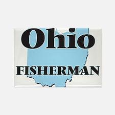Ohio Fisherman Magnets