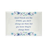 Good friends are like stars 10 Pack