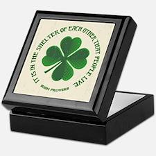 Irish Proverb -915 Keepsake Box