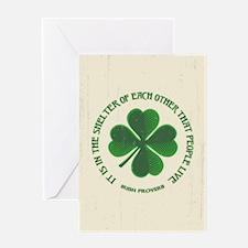 Irish Proverb -915 Greeting Card