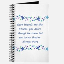 Good Friends are like Stars Inspirational Quote Jo